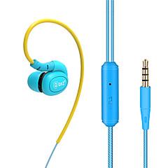 billiga Headsets och hörlurar-DM100 EARBUD Kabel Hörlurar Dynamisk Koppar Mobiltelefon Hörlur HI-FI / mikrofon headset