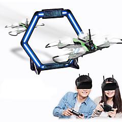 billige Fjernstyrte quadcoptere og multirotorer-RC Drone Flytec H825 BNF 4 Kanaler 6 Akse 5.8G Med HD-kamera 0.3MP 480P Fjernstyrt quadkopter En Tast For Retur / Hodeløs Modus