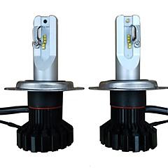 billige Frontlykter til bil-2pcs H4 Bil Elpærer 50W Høypresterende LED 10000lm 4 LED Hodelykt For Volkswagen / Toyota / Honda Grand Cherokee / Fit / Wrangler Alle år