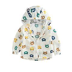 billige Overtøj til babyer-Baby Unisex Aktiv Trykt mønster Langærmet Jakke og frakke