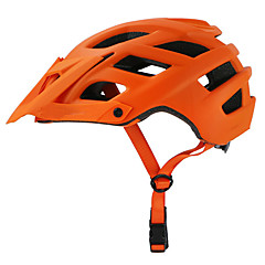 cheap Bike Helmets-MOON Adults Bike Helmet 22 Vents CE Certification Impact Resistant, Light Weight, Removable Visor EPS Cycling / Bike / Camping - Orange / Green / Blue
