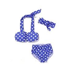billige Badetøj til piger-Baby Pige Strand Trykt mønster Badetøj