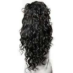 cheap Wigs & Hair Pieces-Human Hair Unprocessed Human Hair Lace Front Wig Peruvian Hair Wavy Wig Side Part 250% Density with Baby Hair Natural Hairline Unprocessed Natural Women's Short Medium Length Long Human Hair Lace Wig