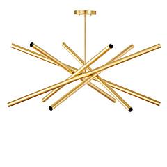 billiga Dekorativ belysning-ZHISHU Sputnik Ljuskronor Glödande Mässing Metall Ministil 110-120V / 220-240V Glödlampa inte inkluderad