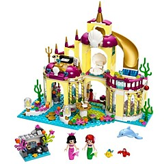 cheap Toys & Games-Building Blocks 402pcs Castle / Princess Parent-Child Interaction / Lovely Gift