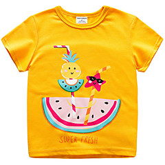 billige Babyoverdele-Baby Unisex Basale / Gade Frugt Kortærmet T-shirt