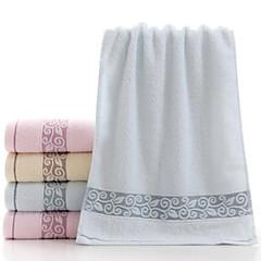 billiga Handdukar och badrockar-Överlägsen kvalitet Tvätt handduk, Geometrisk Polyester / Bomull Blandning 1 pcs