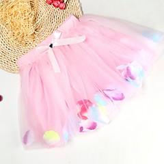 billige Pigenederdele-Baby Pige Blomstret / Trykt mønster Nederdel