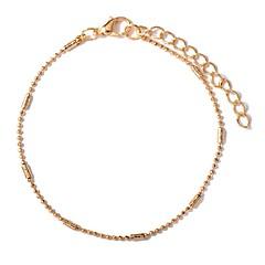 baratos Bijoux de Corps-Longas tornozeleira - Doce, Fashion Dourado / Prata Para Aniversário / Para Noite / Mulheres