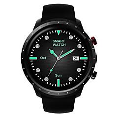 tanie Inteligentne zegarki-Factory OEM Z18 Inteligentny zegarek Android Bluetooth GPS Wodoodporny Pulsometry Ekran dotykowy Odbieranie bez użycia rąk Krokomierz Budzik Informacja o temperaturze / GSM (900/1800/1900MHz) / 512MB