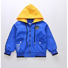 billige Jakker og frakker til drenge-Børn Drenge Geometrisk Langærmet Jakke og frakke