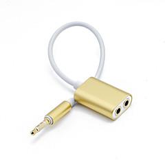 Χαμηλού Κόστους Αξεσουάρ Ακουστικών-Προσαρμογέας ακουστικών 7075 Αλουμίνιο Ασημί / Ανθισμένο Ροζ / Γκρίζο 1 pcs