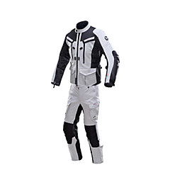 tanie Kurtki motocyklowe-DUHAN D-201SET Ubrania motocyklowe Zestaw kurtek spodni na Męskie Wiosna i jesień Ochrona przed wiatrem / Wytrzymałe w noszeniu / Wygodne