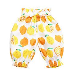 billige Babyunderdele-Baby Pige Gade Frugt Bomuld Bukser