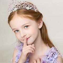 baratos Acessórios para Crianças-Infantil Para Meninas Doce Diário Sólido Estilo Moderno / Tema de Fadas Acessórios de Cabelo Rosa Tamanho Único