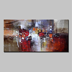 cheap Oversized Painting-Mintura® Hand Painted Abstract Oil Paintings On Canvas Modern Wall Art Picture For Home Decoration Ready To Hang