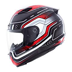 tanie Kaski i maski-YOHE YH-957 Kask pełny Doroślu Unisex Kask motocyklowy Oddychający / Dezodorant / Anty pot