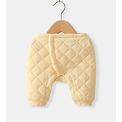 billige Babyunderdele-Baby Pige Basale Ensfarvet Bukser