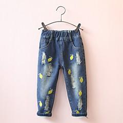 billige Bukser og leggings til piger-Børn Pige Frugt Jeans