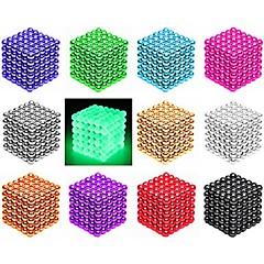 Χαμηλού Κόστους Παιχνίδια μαγνήτες-216/512 pcs 3mm / 5mm Παιχνίδια μαγνήτες Μαγνητικές μπάλες Τουβλάκια Puzzle Cube Μαγνήτης Μαγνήτης νεοδυμίου Δημιουργικό Μαγνητική έξυπνος Αγορίστικα Κοριτσίστικα Παιχνίδια Δώρο