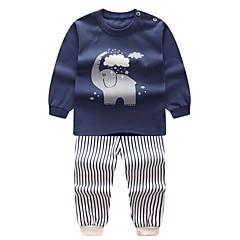 ieftine Lenjerie & Șosete Băieți-Copil Băieți Mată / Dungi Pijamale