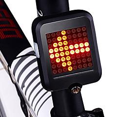 φώτα ασφαλείας / πισω φαναρια LED Ποδηλασία Αδιάβροχη, Νεό Σχέδιο, Ελαφρύ Μπαταρία λιθίου 80 lm Κόκκινο Ποδηλασία