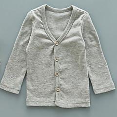 tanie Odzież dla chłopców-Dzieci Dla chłopców Podstawowy Jendolity kolor Długi rękaw Odzież puchowa / pikowana