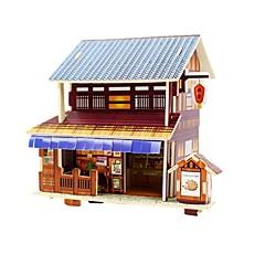 billige Puslespill i tre-Puslespill i tre / Puslespill og logikkleker Kjent bygning Skole / profesjonelt nivå / Stress og angst relief Tre 1 pcs Barne / Tenåring Alle Gave