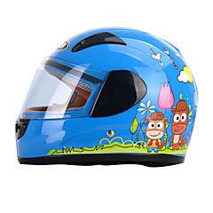 tanie Kaski i maski-YEMA 203 Kask pełny Dzieci Unisex Kask motocyklowy Odporny na wstrząsy / Odporność na promienie UV / Odporność na wiatr