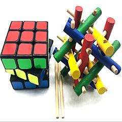 tanie Kostki Rubika-Kostka Rubika z-cube Drewniane rzemiosło Scramble Cube / Foppy Cube 3*3*3 Gładka Prędkość Cube Kostki Rubika Puzzle Cube Przeciwe stresowi i niepokojom Ukojenie przy ADD, ADHD, niepokojach, autizmie