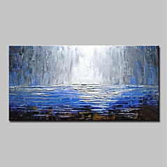 cheap -Mintura® Large Size Hand Painted Abstract Knife Oil Paintings On Canvas Modern Wall Art Pictures For Home Decoration No Frame