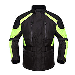 tanie Kurtki motocyklowe-DUHAN D-087pro Ubrania motocyklowe Kurtka na Męskie Oksford Na każdy sezon Wodoodporny / Odporność na zurzycie / Odblaskowy