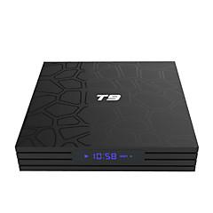 billige TV-bokser-pulierde t9 tv boks android 8,1 tv boks rockchip rk3328 quad-corecortex-a53 4GB ram 32gb rom octa core