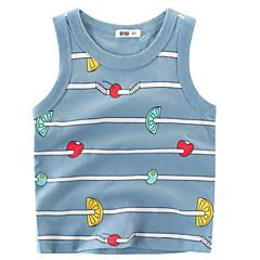 billige Overdele til drenge-Børn Drenge Trykt mønster Uden ærmer Undertrøje og cami-top