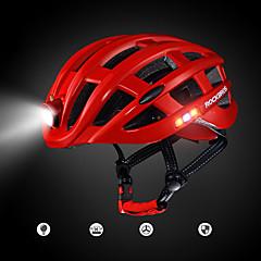 رخيصةأون خوذات الدراجة-ROCKBROS للبالغين خوذة دراجة 20 المخارج تهوية EPS رياضات أخضر / الدراجة - أحمر / أزرق / الخام الأسود رجالي / نسائي