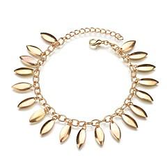 baratos Bijoux de Corps-Fio Único tornozeleira - Borla, Romântico Dourado Para Presente Para Noite Mulheres