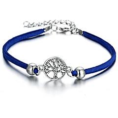 baratos Bijoux de Corps-Fashion tornozeleira - Árvore da Vida Importante Preto / Azul / Azul Claro Para Para Noite / Bikini / Mulheres