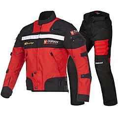 baratos Jaquetas de Motociclismo-DUHAN 020 Roupa da motocicleta Conjunto de calças de jaquetaforHomens Tecido Oxford Primavera / Verão Resistente ao Desgaste / Proteção / Melhor qualidade