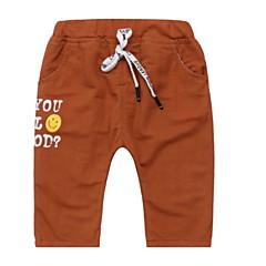 baratos Roupas de Meninos-Bébé Para Meninos Estampado Calças