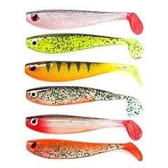 billiga Fiskbeten och flugor-2 pcs Mjukt bete Mjukt bete Mjuk plast Sjöfiske / Kastfiske / Färskvatten Fiske / Karpfiske / Abborr-fiske / Drag-fiske / Generellt fiske