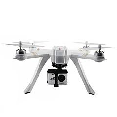 billige Fjernstyrte quadcoptere og multirotorer-RC Drone MJX Bugs 3 Pro RTF 4 Kanaler 6 Akse 2.4G Med HD-kamera 3.0MP 1080P Fjernstyrt quadkopter En Tast For Retur / Hodeløs Modus / Tilgang Real-Tid Videooptakelse Fjernstyrt Quadkopter