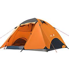 billige Telt og ly-BSwolf 2 personer Familie Camping Telt Dobbelt Lagdelt Stang camping Tent Utendørs Regn-sikker, Pusteevne til Fisking / Strand / Camping / Vandring / Grotte Udforskning >3000 mm Oxfordtøy, Terylene