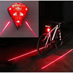 Kerékpár hátsó lámpa / hátsó lámpák LED Kerékpár világítás Kerékpározás Vízálló, Hordozható, Viseletbiztos Li-on 20 lm Újratölthető Piros Kempingezés / Túrázás / Barlangászat / Kerékpározás