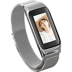 preiswerte -Smart-Armband JSBP-B42 für Android iOS Bluetooth Wasserfest Herzschlagmonitor Blutdruck Messung Touchscreen Verbrannte Kalorien Schrittzähler Anruferinnerung AktivitätenTracker Schlaf-Tracker