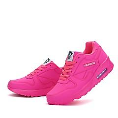 baratos Tênis de Corrida-Mulheres Tênis Caminhada / Corrida / Cooper Leve, Á Prova-de-Pó, Anti-desgaste Pele Sintética Fúcsia / Azul / Rosa claro