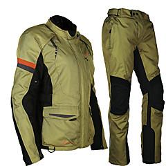 tanie Kurtki motocyklowe-MOTOBOY Ubrania motocyklowe Zestaw kurtek spodni na Męskie Oksford / Tafta poliestrowa / Bawełna Na każdy sezon Wodoodporny / Odporność na zurzycie / Ochrona