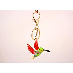 Fågel Nyckelring Grön Oregelbunden 8c539d6490872