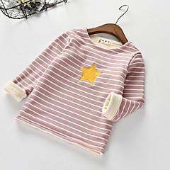 billige Pigetoppe-Børn / Baby Pige Stribet Langærmet Bluse