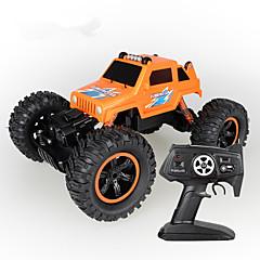 baratos Carros Controle Remoto-Carro com CR 2836 4CH 2.4G Rock Climbing Car / Stunt Car 1:14 8 km/h Simulação / Interação pai-filho
