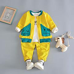 billige Tøjsæt til drenge-Børn Drenge Trykt mønster Langærmet Tøjsæt